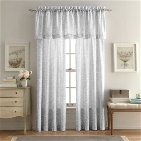 Buy Bedroom Valances Buy Bedroom Window Curtains From Bed Bath Beyond