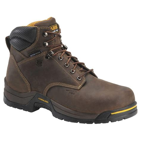 composite toe boots for carolina waterproof composite toe work boots 5021 5521