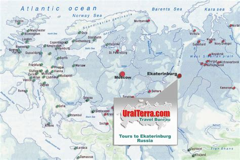 yekaterinburg map ekaterinburg map yekaterinburg map europe and asia