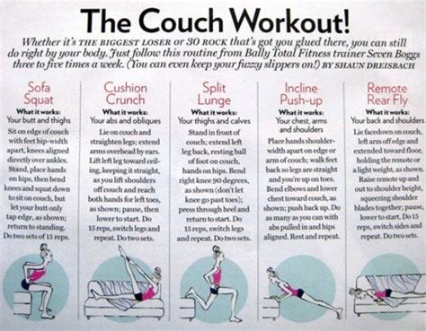 workout couch a fish out of water couch potato workout