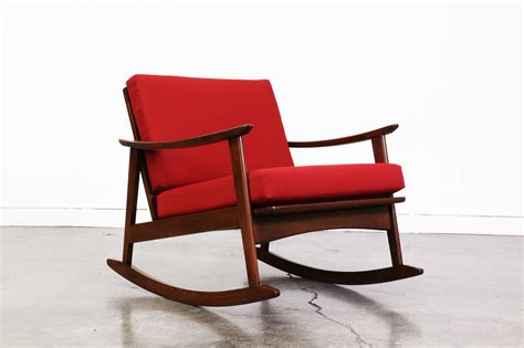 mid century modern rocking chair mid century modern rocking chair vintage supply store