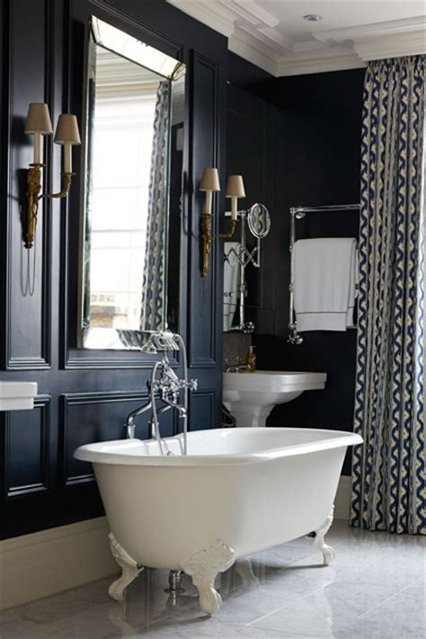 Navy Blue Bathroom Ideas | navy blue bathroom bathroom design ideas houseandgarden