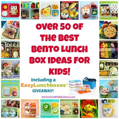 Giveaway Ideas For Kids - over 50 of the best bento lunch box ideas for kids and easy lunchboxes giveaway