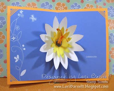 lotus flower pop up card template free st scents pop up lotus