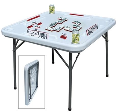 plastic domino table with folding metal legs buy domino