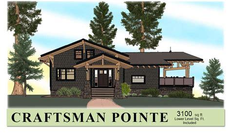 Hybrid Timber Frame Floor Plans Mid Sized Timber Frame Home Plan Craftsman Pointe