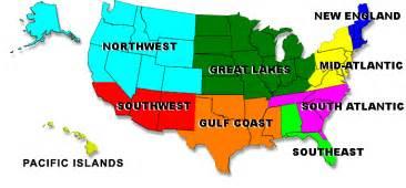 us regions map new united states lifesaving association usla national