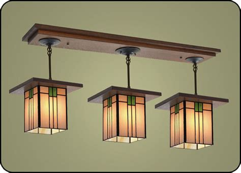 craftsman kitchen lighting craftsman style light fixtures 507 mission studio