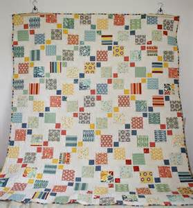Disappearing 9 Patch Baby Quilt Pattern by Let S Begin Sewing Disappearing 9 Patch Quilt