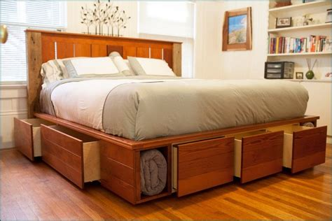 King Captains Bed With Drawers by King Size Captains Bed With 12 Drawers Woodworking