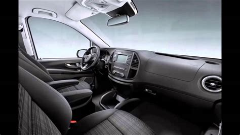 mercedes vito interior new 2015 mercedes vito interior youtube