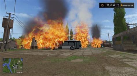 placeable fire mod  farming simulator