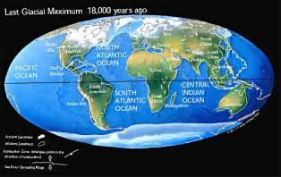 ice age maps ice age