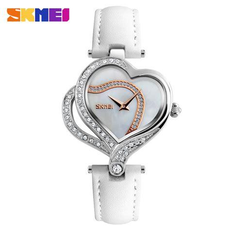 Jam Tangan Wanita Jam Fashion Wanita White skmei jam tangan fashion wanita 9161 white jakartanotebook