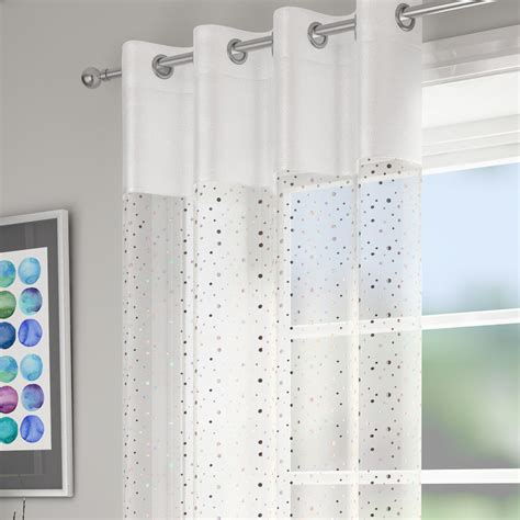 voile curtain panels uk glitz white voile panel voile panels curtains