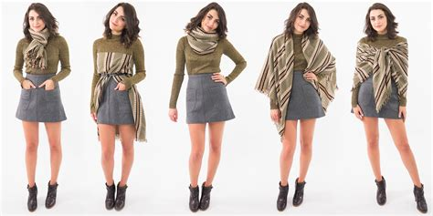 7 Scarf Styles For Fall by How To Tie A Blanket Scarf 12 Ways To Wear A Blanket Scarf