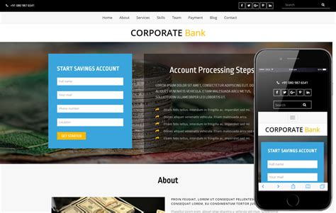 banking templates for a website e banking a banking category bootstrap responsive web template