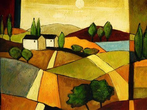 cuadros de paisajes abstractos las 25 mejores ideas sobre cuadros de paisajes en