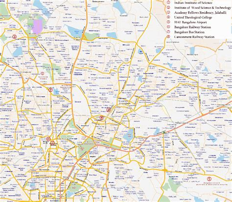 bangalore city map images large bangalore maps for free and print high