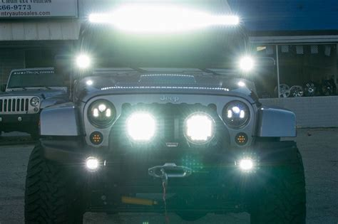 Led Lights For Jeep Tj Rigid Industries 50 Quot E Series Led Light Bar