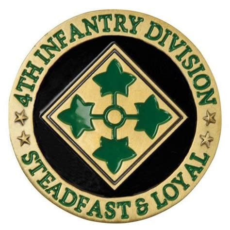 4th Infantry Division Coin   Medals of America