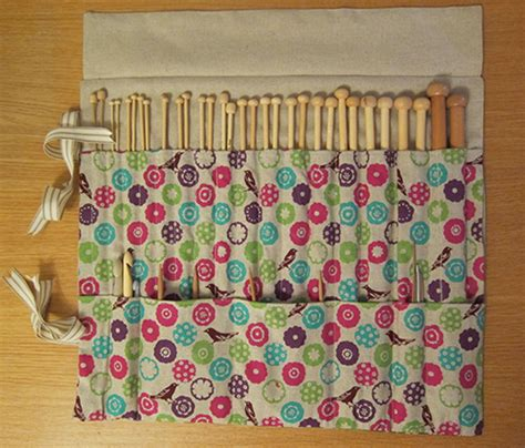 free pattern needle case knitting needle case tutorial guthrie ghani