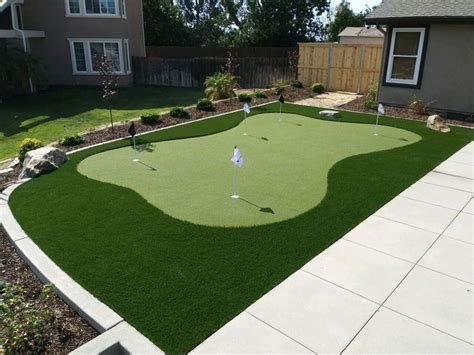 backyard putting green installation best 25 synthetic lawn ideas on pinterest artificial