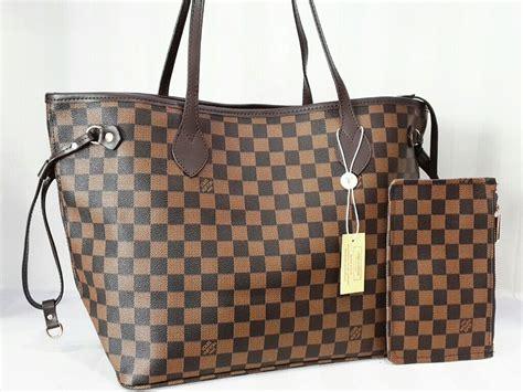 Ic Bags Tas Wanita Lv Neverfull Monogram jual tas lv neverfull set pouch rumah fashion 168