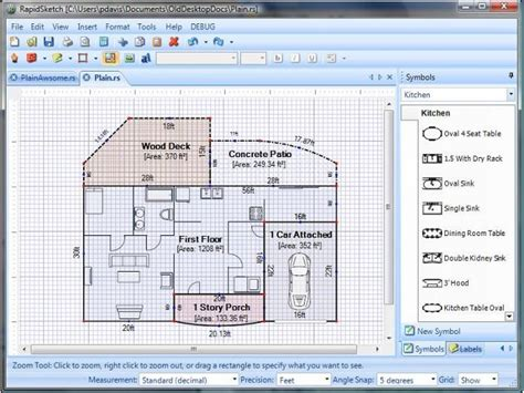free simple floor plan software simple floor plan software floor plan design software free