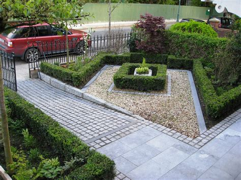 Front Garden Design Ideas | smart front garden design in dublin tim austen garden