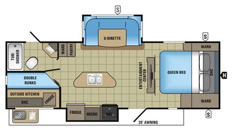 Jayco Travel Trailers Floor Plans by 2017 White Hawk Travel Trailer Floorplans Prices Jayco