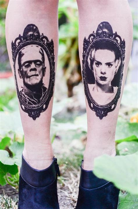 tattoo fixers halloween frankenstein 25 best ideas about halloween tattoo on pinterest