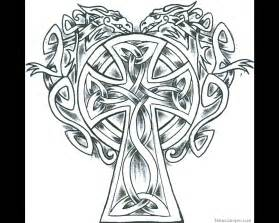 celtic cross coloring pages very nice fine elaborate