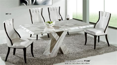 modern marble dining room furniture  dining tables