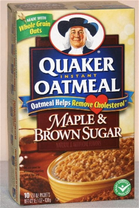 Quaker Oatmeal Instan quaker instant oatmeal only 0 49 at publix until 10 16