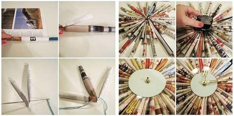cara membuat prakarya jam dari kardus 10 cara membuat kerajinan tangan dari koran bekas mudah