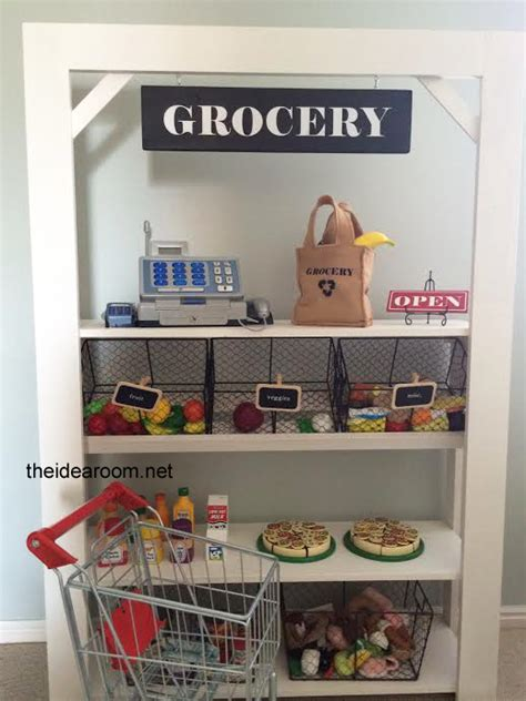 grocery stand diy kid s grocery stand the idea room