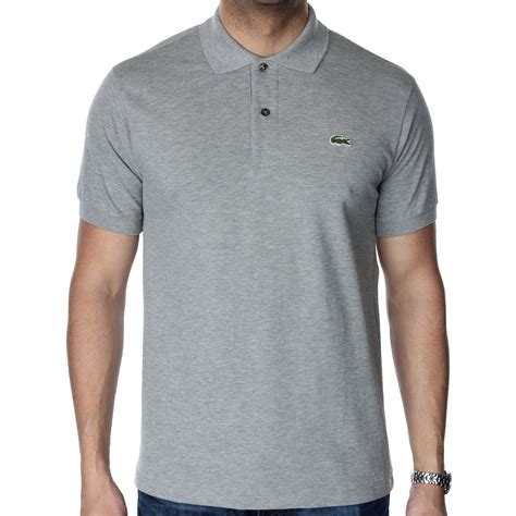 lacoste l1212 original mottled polo t shirt various