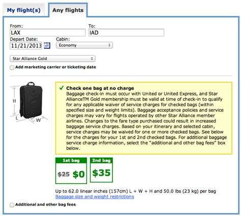 United Air Baggage Fees | united airlines reduces free checked baggage allowance for
