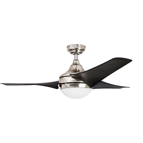 54 inch ceiling fan honeywell ceiling fan brushed nickel finish 54 inch