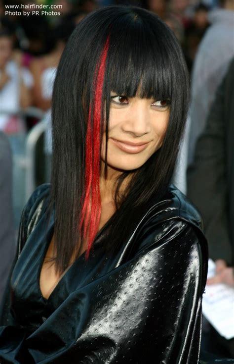 borstel om haar steil te maken tijdelijke opvallende haarkleur 187 kapsels
