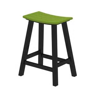 Saddle Seat Bar Stool Polywood 2011 F Contempo Saddle Seat Outdoor Counter Bar Stool Atg Stores