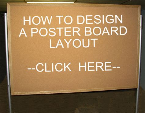 how to layout a poster board poster board stand rental