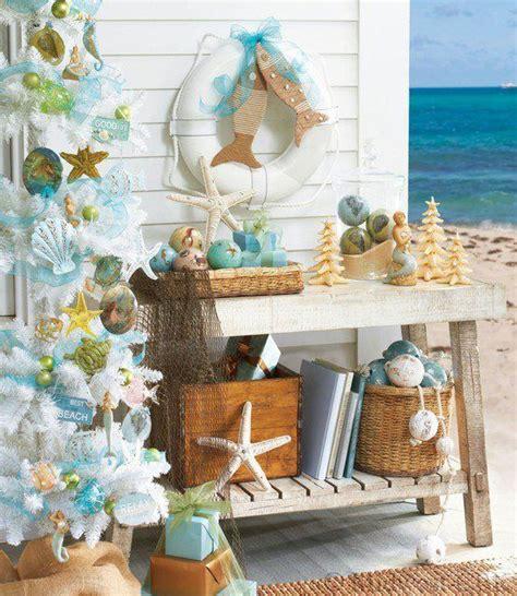 seashore home decor beach themes xmas tree christmas pinterest surf christmas trees and style