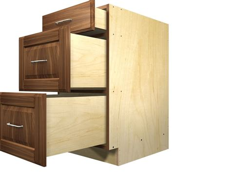 Drawers For Cabinets Kitchen 3 Drawer Kitchen Cabinet Plans Kitchen Cabinet
