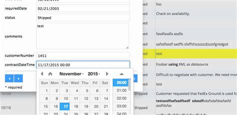 php grid date format complete date format demo phpgrid php datagrid