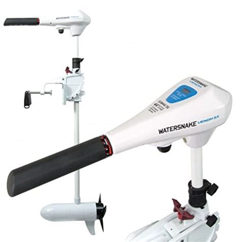 watersnake electric outboard motors watersnake saltwater venom sx transom mount electric