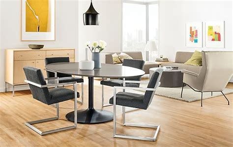 Julian Dining Table With Lira Chairs Modern Dining Room Julian Dining Room Furniture