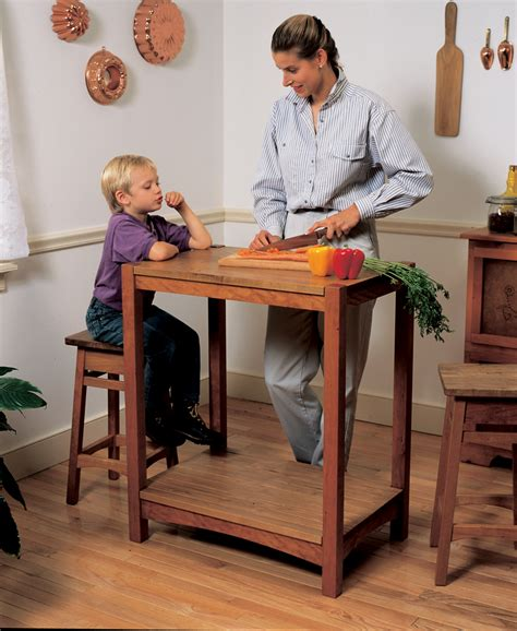 kitchen work table popular woodworking magazine