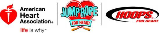 We use dollars raised through jump rope for heart and hoops for heart